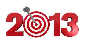 επόμενος στόχος του 2013 ελεύθερη απεικόνιση δικαιώματος