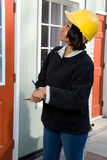 Επόπτης κατασκευής Στοκ φωτογραφία με δικαίωμα ελεύθερης χρήσης