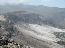 Ερήμωση μετά από την πυρκαγιά Hermanus βουνών στοκ φωτογραφία με δικαίωμα ελεύθερης χρήσης