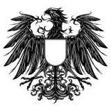 Εραλδικός αετός ύφους Στοκ Φωτογραφία