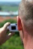ερασιτέχνης φωτογράφος Στοκ εικόνες με δικαίωμα ελεύθερης χρήσης