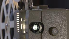 Ερασιτεχνικός κινηματογράφος Προβολέας για την ταινία 8mm η δεκαετία του '60, η δεκαετία του '70, έτη της δεκαετίας του '80 Εγχώρ απόθεμα βίντεο