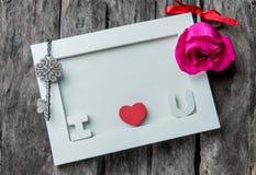 εραστές αγάπης καρδιών πλαισίων Στοκ φωτογραφίες με δικαίωμα ελεύθερης χρήσης