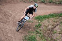 Εραστές ποδηλατών ανταγωνισμού Στοκ φωτογραφία με δικαίωμα ελεύθερης χρήσης