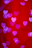 Εραστές Boke της καρδιάς Στοκ Φωτογραφίες