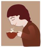 Εραστής καφέ Στοκ Φωτογραφία