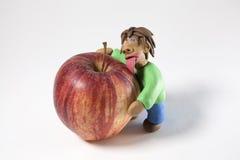 Εραστής της Apple Στοκ φωτογραφία με δικαίωμα ελεύθερης χρήσης
