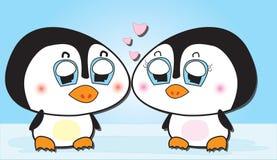 εραστής penguins Στοκ Φωτογραφία