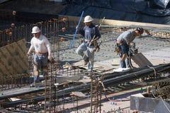 εργάτες οικοδομών Στοκ εικόνα με δικαίωμα ελεύθερης χρήσης