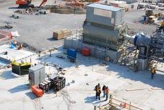 εργάτες οικοδομών Στοκ Εικόνα