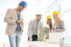 Εργάτες οικοδομών Στοκ Φωτογραφίες