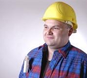 εργάτης οικοδομών στοκ εικόνες