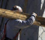 εργάτης οικοδομών Στοκ εικόνα με δικαίωμα ελεύθερης χρήσης