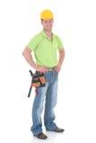 εργάτης οικοδομών Στοκ φωτογραφία με δικαίωμα ελεύθερης χρήσης
