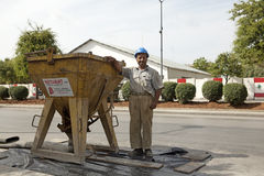 Εργάτης οικοδομών, Λίβανος Στοκ φωτογραφίες με δικαίωμα ελεύθερης χρήσης