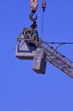 Εργαζόμενοι γερανών Στοκ Εικόνα