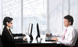 εργαζόμενοι γραφείων Στοκ φωτογραφία με δικαίωμα ελεύθερης χρήσης