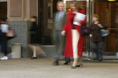 εργαζόμενοι κίνησης Στοκ Εικόνες