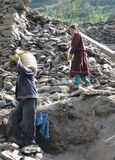 εργαζόμενοι κατασκευή&si στοκ εικόνα