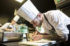 Εργαζόμενοι 009 κουζινών Στοκ Εικόνες