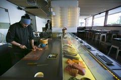 Εργαζόμενοι 017 κουζινών Στοκ Εικόνες