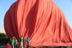 Εργαζόμενοι μπαλονιών ζεστού αέρα Στοκ φωτογραφία με δικαίωμα ελεύθερης χρήσης