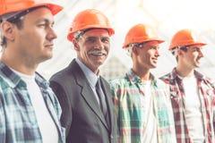 Εργαζόμενοι Οικοδομικής Βιομηχανίας στοκ εικόνες με δικαίωμα ελεύθερης χρήσης