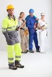 εργαζόμενοι ομάδας Στοκ Φωτογραφία