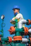 Εργαζόμενοι πετρελαίου Στοκ Εικόνα