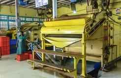 Εργαζόμενοι στο εργοστάσιο τσαγιού Στοκ εικόνες με δικαίωμα ελεύθερης χρήσης
