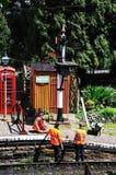 Εργαζόμενοι συντήρησης διαδρομής, Arley Στοκ Εικόνα