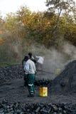 Εργαζόμενος άνθρακα Στοκ εικόνες με δικαίωμα ελεύθερης χρήσης
