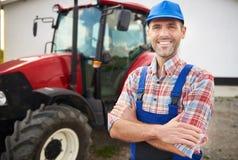 Εργαζόμενος αγρότης Στοκ φωτογραφίες με δικαίωμα ελεύθερης χρήσης
