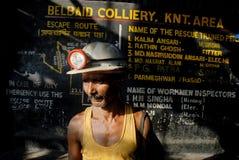 Εργαζόμενος ανθρακωρυχείων Στοκ εικόνα με δικαίωμα ελεύθερης χρήσης