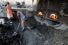 Εργαζόμενος ανθρακωρυχείων Στοκ Εικόνες
