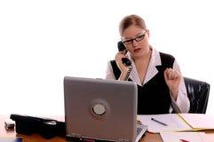 εργαζόμενος γραφείων στοκ εικόνα με δικαίωμα ελεύθερης χρήσης