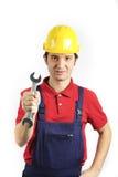 εργαζόμενος εμπιστοσύν&eta Στοκ εικόνα με δικαίωμα ελεύθερης χρήσης