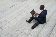Εργαζόμενος επιχειρηματίας στοκ φωτογραφία