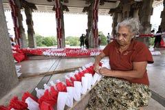 Εργαζόμενος και χειροτεχνία γυναικών στη Σρι Λάνκα στοκ φωτογραφία