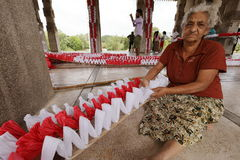 Εργαζόμενος και χειροτεχνία γυναικών στη Σρι Λάνκα στοκ φωτογραφία με δικαίωμα ελεύθερης χρήσης