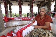 Εργαζόμενος και χειροτεχνία γυναικών στη Σρι Λάνκα στοκ φωτογραφίες