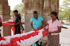 Εργαζόμενος και χειροτεχνία στη Σρι Λάνκα στοκ εικόνες