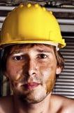 εργαζόμενος κρανών κίτριν&om Στοκ εικόνα με δικαίωμα ελεύθερης χρήσης