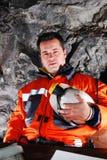 εργαζόμενος ορυχείων Στοκ φωτογραφία με δικαίωμα ελεύθερης χρήσης