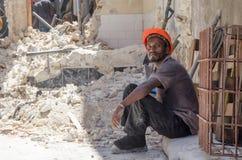 Εργαζόμενος που παίρνει το σπάσιμο Στοκ φωτογραφία με δικαίωμα ελεύθερης χρήσης