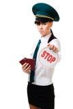 εργαζόμενος στάσεων σημ&al Στοκ εικόνες με δικαίωμα ελεύθερης χρήσης