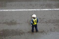 Εργαζόμενος υπηρεσιών ασφάλειας Στοκ φωτογραφία με δικαίωμα ελεύθερης χρήσης