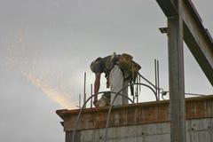 εργαζόμενος χάλυβα Στοκ φωτογραφία με δικαίωμα ελεύθερης χρήσης