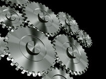 εργαλεία αλουμινίου Στοκ Εικόνες