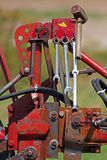 εργαλεία αρότρων αρότρων Στοκ εικόνα με δικαίωμα ελεύθερης χρήσης